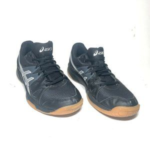 Asics Gel Womens Upcourt Volleyball Shoes Black Lo